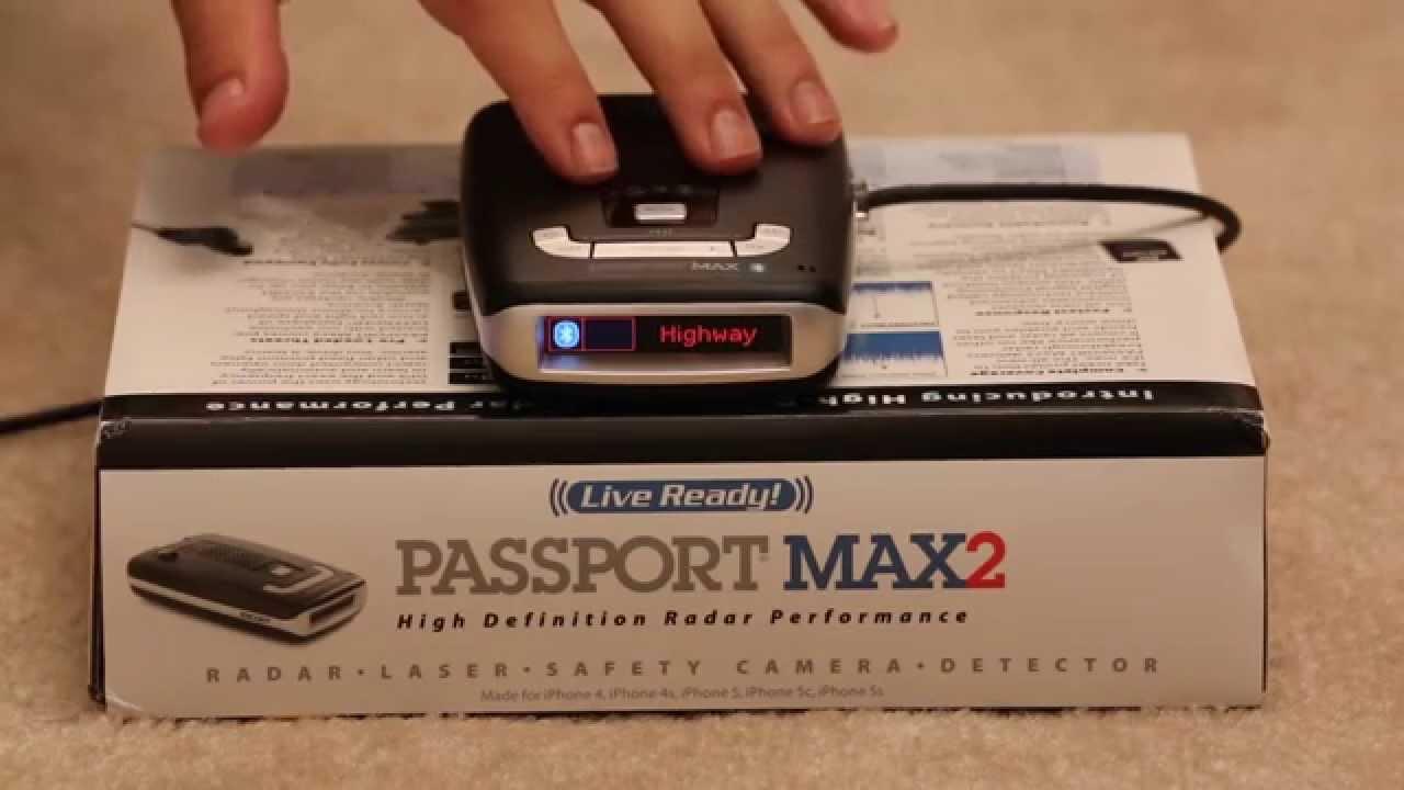 Escort Passport 9500ix Vs Max2