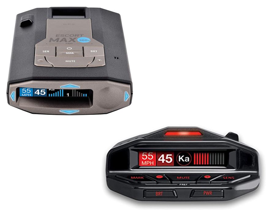 Max 360C vs Escort Redline EX